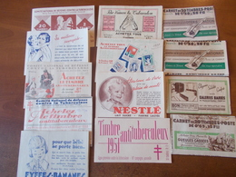 Lot N° 453  FRANCE   Un Lot De 13 Carnets Publicités Divers Neufs Avec Gomme , 10 Carnets Entiers  / No Paypal - Collections (with Albums)