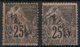 Reunion (1891) N 24 (o) Varietes De Surcharge - Reunion Island (1852-1975)