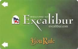 Excalibur Casino Las Vegas, NV - Hotel Room Key Card - Hotel Keycards