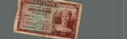 10 PESETAS - [ 2] 1931-1936 : République