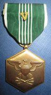 "Medaille ""Commendation Medal"" US WW2 ""avec ""V Device"" - Etats-Unis"