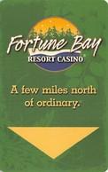 Fortune Bay Resort Casino - Hotel Room Key Card - Hotel Keycards