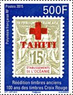 Ref. 353095 * NEW *  - FRENCH POLYNESIA . 2015. 50 A�OS DE SELLOS DE LA CRUZ ROJA - French Polynesia