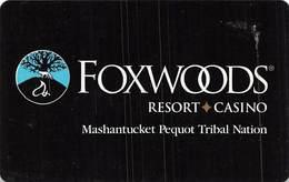 Foxwoods Casino - Hotel Room Key Card - Hotel Keycards