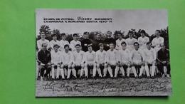 Romania, Roumanie, Rumaenien - Fotbal Dinamo Bucuresti 1970-1971 - Romania