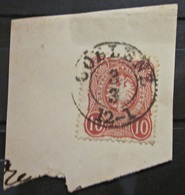 Briefmarke Deutsches Reich 10 Pfennige Stempel 1875 / 79 Coblenz - Allemagne