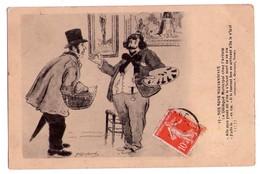 3253- Cp Humoristique -  Nos Bons Morvandiaux - Le Délégué Municipal Chez L'Artiste -n°17 - Coll. F.Guyonnet à Nevers - - Humour