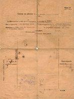 VP13.338 - MILITARIA - PARIS 1939 - Centre De Réforme - Le Médecin Chef - Soldat DEVAISE Du 23è Rgt D'Infanterie à LYON - Documents