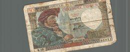 Billet De Banque De France De Cinquante Francs Du 18 Dedecembre 1941 - 1871-1952 Anciens Francs Circulés Au XXème