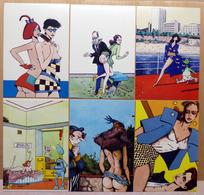 Philippe BERTRAND    : Lot De 6 Cartes Postales - EROTISME - 1983 - Comics
