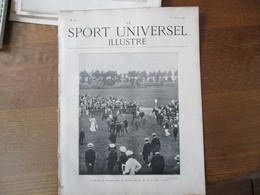 LE SPORT UNIVERSEL ILLUSTRE N°267 31 AOUT 1901 LA FAMILLE IMPERIALE DE RUSSIE A CHEVAL,LES CHIENS DE DEFENSE,LOCOMOTION - Livres, BD, Revues