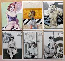 LIBERATORE    : Lot De 6 Cartes Postales - EROTISME - 1983 - Comics