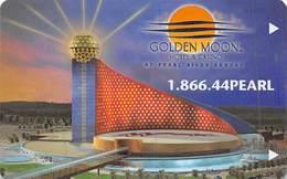 Golden Moon Casino Pearl River Resort - Hotel Room Key Card - Hotel Keycards