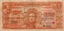 URUGUAY 1 PESO 1939 P-35 - Uruguay