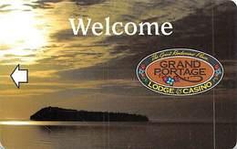 Grand Portage Lodge & Casino - Hotel Room Key Card - Hotel Keycards