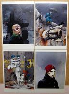 BILAL    : Lot De 6 Cartes Postales - 1983 - Comics