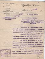 VP13.339 - MILITARIA - PARIS 1939 - Lettre Du Directeur Technique & Industriel Pour Mr MERCIER à ISSY LES MOULINEAUX - Aviation