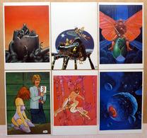 MOEBIUS    : Lot De 12 Cartes Postales - 1983 - Comics