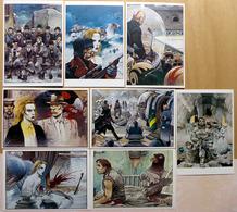 BILAL    : Lot De 8 Cartes Postales - 1984 - Bandes Dessinées