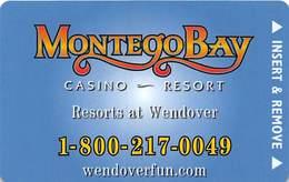 Montego Bay Casino Wendover, NV - Hotel Room Key Card - Hotel Keycards
