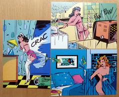 Albert LINGOT    : Lot De 3 Cartes Postales - EROTISME - 1984 - Comics