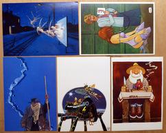 MOEBIUS    : Lot De 5 Cartes Postales - 1983 - Comics