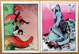 FOREST Et F'MURR    : Lot De 2 Cartes Postales - EROTISME - 1983 - Comics