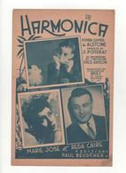 Partition Harmonica Rumba Samba Marie José Et Reda Caire - Partitions Musicales Anciennes