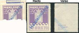 239 GROENLAND 1937 - Yvert 7 A Violet (Dentelure 10 3/4) Colis Postaux Ours - Oblitere - Parcel Post