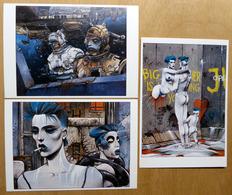 BILAL    : Lot De 3 Cartes Postales - 1983 - Comics