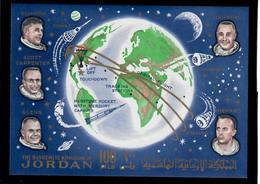 GIORDANIA 1964 - ASTRONAUTICA - 2 FGL - MNH ** - Giordania