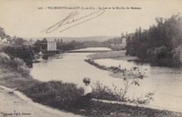 VILLENEUVE SUR LOT - 47 - Le Lot Et Le Moulin De Madame - Villeneuve Sur Lot