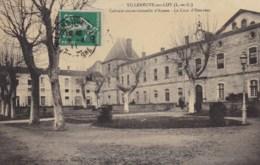 VILLENEUVE SUR LOT - 47 - Colonie Correctionnelle D'Eysse - La Cour D'honneur - Villeneuve Sur Lot