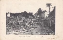 02. BUZANCY.  GUERRE 14-18 .4 AOÛT 1918 - War 1914-18
