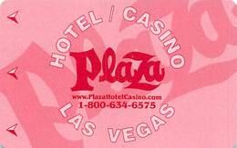 Plaza Casino Las Vegas, NV - Hotel Room Key Card - Hotel Keycards