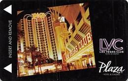 Plaza & Las Vegas Club Casinos Las Vegas, NV - Hotel Room Key Card - Hotel Keycards