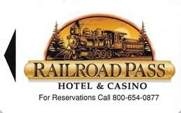 Railroad Pass Casino - Hotel Room Key Card - Hotel Keycards