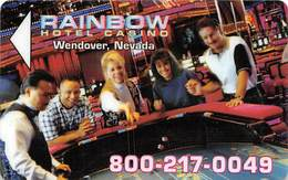 Rainbow Casino Wendover, NV - Hotel Room Key Card - Hotel Keycards