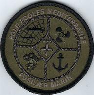 FUSILIER MARIN - POLE ECOLE MEDITERRANEE - PE3M - Patches