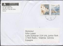 3340  Carta  Urgente  La Tour De Peilz - Switzerland