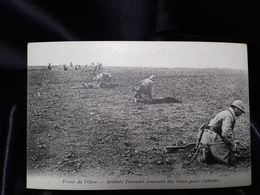 Postal Sin Circular. I Guerra Mundial. Front De LÒise. - Guerra 1914-18