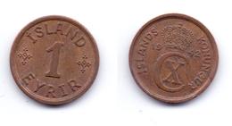 Iceland 1 Eyrir 1942 - Islande