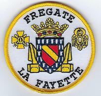 Ecusson Navire FREGATE LA FAYETTE Marine - Patches
