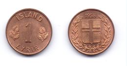 Iceland 1 Eyrir 1958 - Islande