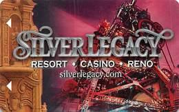 Silver Legacy Casino Reno,NV - Hotel Room Key Card - Hotel Keycards