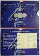 0053 - COFFRET BU - FRANCS - 2000 - 1 Centime REBORD à 20 Francs - Z. FDC