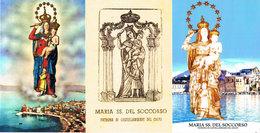 Italien - Italy - 4 Karten Aus Castellamare Del Golfo - 300 Jahre Pfarrkirche Maria Santissima Del Soccorso -  Chiesa - 1946-.. République