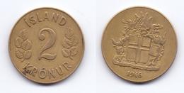 Iceland 2 Kronur 1946 - Iceland