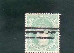 ESPAGNE 1870 - 1870-72 Régence