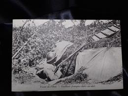 Postal Sin Circular. I Guerra Mundial. Front De L'Oise. - Guerra 1914-18